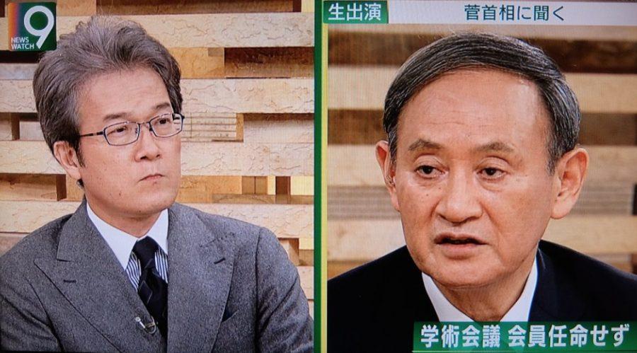 菅総理 有馬キャスター